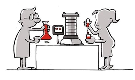 Cartoon Grondmechanische karakteristieken