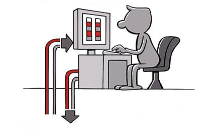 Cartoon Grondwatermonitoring