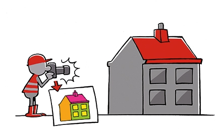 Cartoon Thermografie
