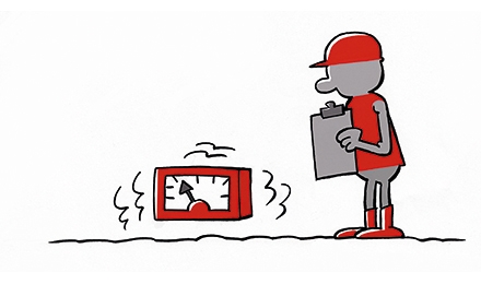 Cartoon Trillingsanalyse