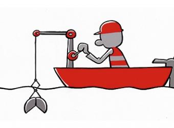 Cartoon Onderwaterbodems
